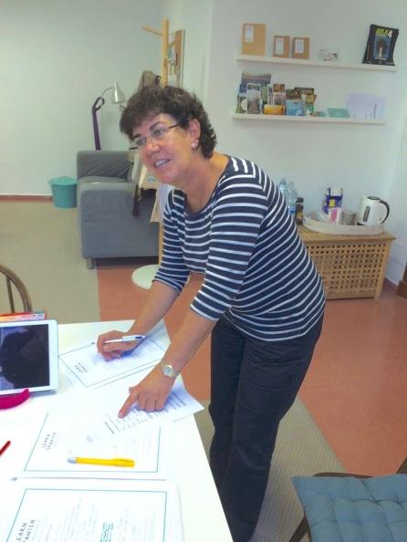 Queta Sobrino González Spanish teacher in Menorca