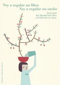 Cartel Día del libro
