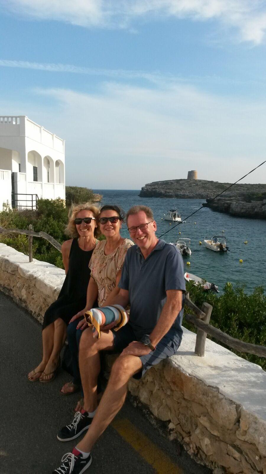 Bildungsurlaub Spanisch lernen auf Balearen Menorca Gabi, Petra, Jan