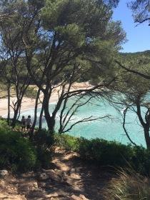 Camí de cavalls.School Learn Spanish in Menorca. Activities
