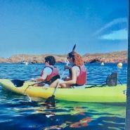 kayack Es Grau. Menorca Learn Spanish School