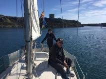 sailing Mahón
